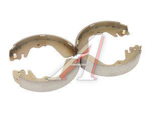 Колодки тормозные HYUNDAI Porter задние барабанные (4шт.) HSB HS0018, 58305-4BA20