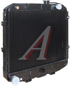 Радиатор УАЗ-3162,390994,374195,374108 медный 3-х рядный дв.УМЗ-4213,ЗМЗ-409,ЗМЗ-5143 ШААЗ 31608-1301010-02, 31608-1301010