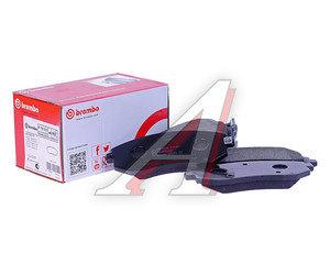 Колодки тормозные SUBARU передние (4шт.) BREMBO P78013, GDB3328, 26296-FE020