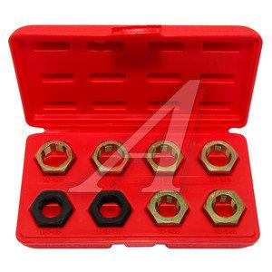 Набор инструментов для восстановления внешней резьбы в кейсе 8 предметов FORCE F-67001