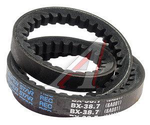 Ремень приводной клиновой 17х983 HYUNDAI HD120 кондиционера DONGIL B38.7, 17х983, 99134-6A001