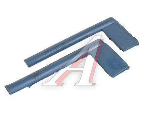 Прокладка ГАЗ-2410,3302 крышки коленвала задней комплект (2шт.) синий 4022.1005162К*, 4022.1005162