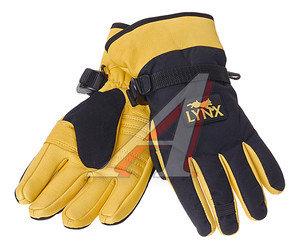 Перчатки оленья кожа утепленные THINSULATE ABSOLUT р.8 ELEMENTA LYNX DG-507-8
