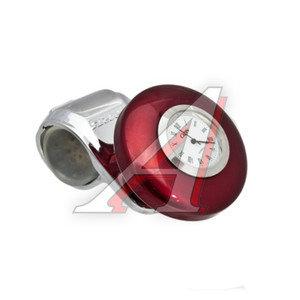 Ручка на руль GT-38269 RED SPORTS с часами GT-38269R, AB-38269R