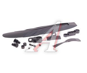 """Крыло велосипедное 24""""-26"""" пластик заднее для двухподвеса SF-958R, NTB11206"""