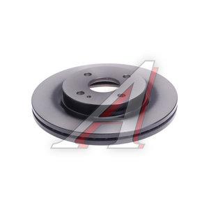 Диск тормозной FORD Fiesta (09-) MAZDA 2 передний (1шт.) TRW DF4966, DF71-33-251A
