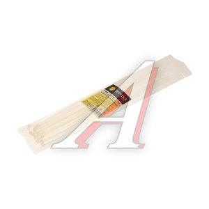 Хомут-стяжка 300х4.0 пластик белый (25шт.) ЭВРИКА ER-04302, CHS-4x300W-25