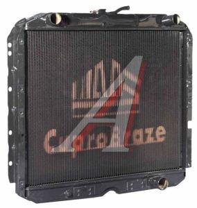 Радиатор УРАЛ-4320,5557 медный 4-х рядный дв.КАМАЗ ШААЗ 5323-1301010