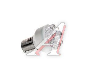 Лампа светодиодная 24V R10W BA15s 9 светодиодов белая МАЯК 24S25-W/9LED/24T25-W/9LED, А24-10