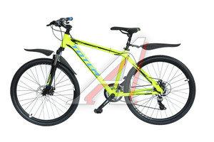 """Велосипед 26"""" 21-ск. дисковые тормоза (AL-рама) лайм COLORFUL TOTEM T15B209 A, T15B209"""