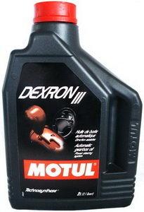 Масло трансмиссионное ATF DEXRON III КПП автомат 2л MOTUL 100318, MOTUL