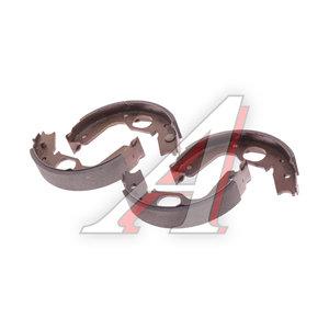 Колодки тормозные MITSUBISHI Pajero (-00) задние барабанные (4шт.) TRW GS8695, MR178827/MN102640/MB618916