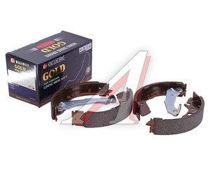 Колодки тормозные HYUNDAI Accent (ТАГАЗ) задние барабанные (4шт.) HSB HS0003, GS8678, 58305-25A10