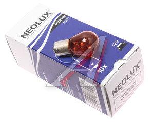 Лампа 12V PY21W BAU15s Yellow NEOLUX N581, NL-581, А12-21-3