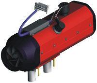 Отопитель 3.5кВт (3000) 24V дизель ШААЗ О31-8106010, О31.8106010-01