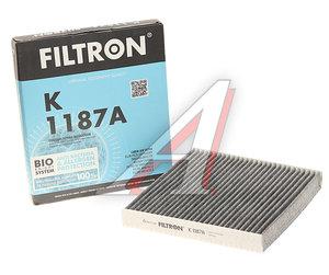 Фильтр воздушный салона HONDA Accord (03-13) угольный FILTRON K1187A, LAK216