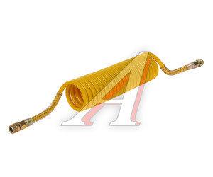Шланг пневматический витой М22 L=5.5м (желтый) СТАНДАРТ AIR FLEX М22 L=5.5м (желтый) (PE) R, AIR FLEX М22 L=5.5м (желтый)