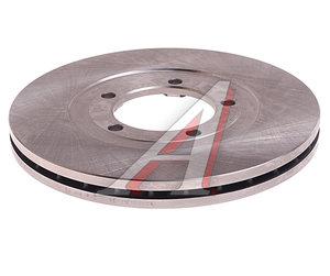 Диск тормозной KIA Bongo 3 (06-) (2.9-J3) (2WD) передний (1шт.) VALEO PHC R2011, 58129-4E000