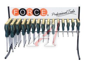 Набор отверток TORX Т5-Т45 силовых 75 предметов FORCE F-2753