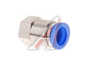 Соединитель трубки ПВХ,полиамид d=12мм (внутренняя резьба) М16х1.5 прямой PCF M16x1.5 d=12, АТ-0733
