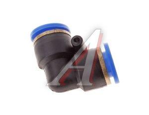 Соединитель трубки ПВХ,полиамид d=12мм угольник PUL12, АТ-345