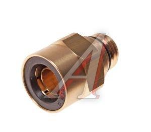 Соединитель трубки ПВХ,полиамид d=15мм (наружная резьба) М16х1.5 прямой латунь CAMOZZI 9512 15-M16X1.5, 893 803 450 0