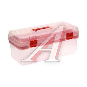 Ящик для инструмента 411х182х172мм прозрачный UNI 16-05