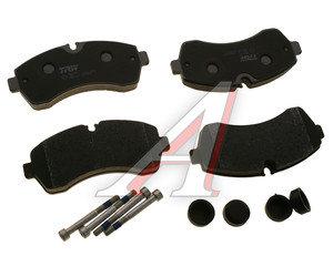 Колодки тормозные MERCEDES Sprinter VW LT передние (4шт.) TRW GDB1696, A0054205320/A0044208220/A0044206820/2E0698151C