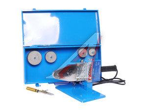 Аппарат сварочный для сварки пластиковых труб, 2кВ, 6 насадок 20-63мм, в кейсе СОЮЗ СТС-7220
