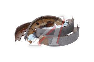 Колодки тормозные ЛАДА Ларгус RENAULT Logan задние барабанные (228х42мм) (4шт.) BOSCH 0 986 487 754, GS8780