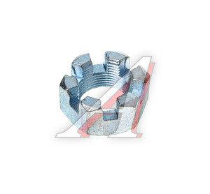 Гайка М24х1.5 пальца рулевой тяги КАМАЗ корончатая 853514