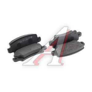 Колодки тормозные TOYOTA Corolla (02-) задние (4шт.) HSB HP8475, GDB3289, 04466-02070