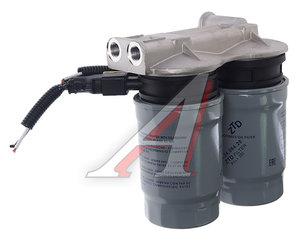 Фильтр топливный КАМАЗ тонкой очистки ЕВРО-4,5 с подогревателем в сборе 740.51-1117010, 23.1117010 подогрев