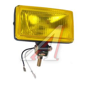 Фара дальнего света 12V 153х104мм с крышкой желтая 1шт. SIRIUS NS-1155Y