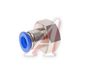 Соединитель трубки ПВХ,полиамид d=10мм (внутренняя резьба) М22х1.5 прямой PCF M22x1.5 d=10, АТ-0737