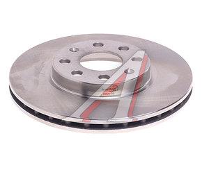 Диск тормозной OPEL Adam (12-) передний вентилируемый (1шт.) KORTEX KD0173, DF4796, 93197241