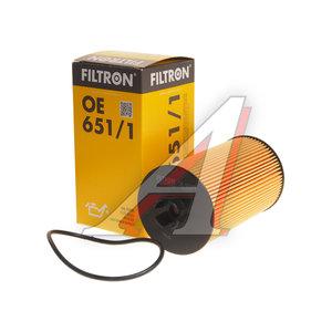 Фильтр масляный MERCEDES Atego FILTRON OE651/1, OX161D