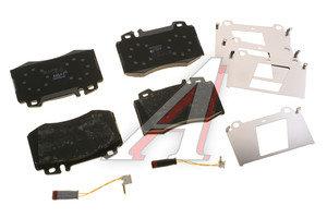 Колодки тормозные MERCEDES C (W203),E (W211),S (W220) передние (4шт.) TRW GDB1543, 0064201220