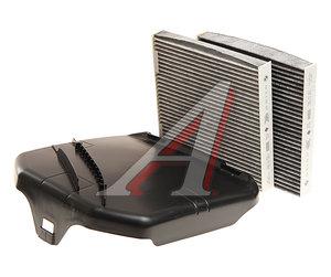 Фильтр воздушный салона BMW X3 (F25),X4 (F26) угольный комплект с крышкой (2шт.) OE 64312284828, LAK630/S