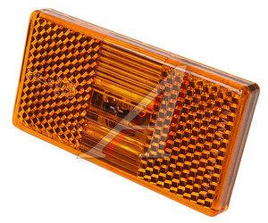 Фонарь габаритный ПАЗ (оранжевый 12/24V,AMP) АЭК 50.3731-02