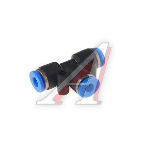 Фитинг для пластиковых трубок Т-образный 4мм ROCK FORCE RF-SPE04