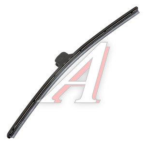 Щетка стеклоочистителя 430мм беcкаркасная (крепление крючок) Super Flat Graphit ALCA AL-047, 047000