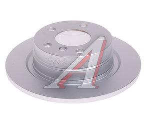 Диск тормозной BMW 1 (F20,F21),2 (F22) задний (1шт.) OE 34216792225, DF6137