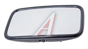Зеркало боковое ЗИЛ,ГАЗ основное сферическое с подогревом 300х185мм 24V V4(ZL-133H) пласт.корпус, 040101