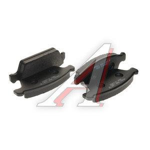 Колодки тормозные DAEWOO Tico (91-01) передние (4шт.) HSB HP2001, SP1050, 55201-78820-000