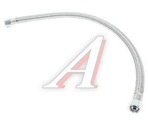 Шланг тормозной КАМАЗ-ЕВРО-2 компрессора в сборе (гайка-гайка) L=650мм 6520-3506060, 6520-3506060 (передний)
