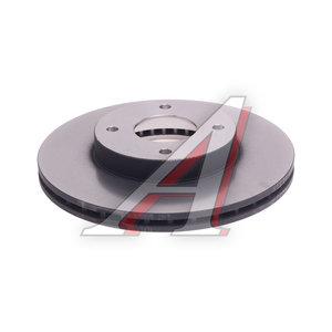 Диск тормозной NISSAN Almera (N16),Primera (P11) передний (1шт.) TRW DF4169, 40206-2F501