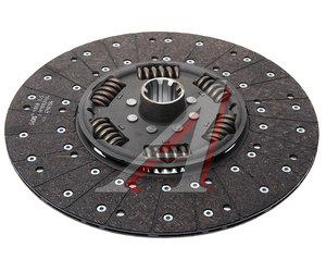 Диск сцепления КАМАЗ-ЕВРО (КПП-ZF) MFZ-430 (усиленный 205) SACHS 1878085641, 491878085641