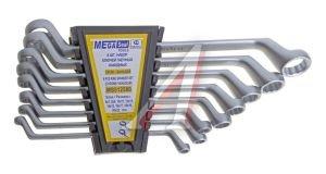 Набор ключей накидных 6-22мм 8 предметов в холдере изгиб 75град. MEGASEAL MS512580