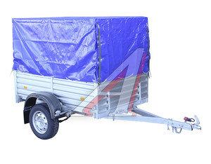Прицеп легковой МЗСА-817710 рессорная подвеска, высокий тент, каркас, высокий борт (1850х1250х470) 817710.004-05